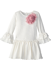 Pippa & Julie - Ivory Knit Dress (Little Kids)