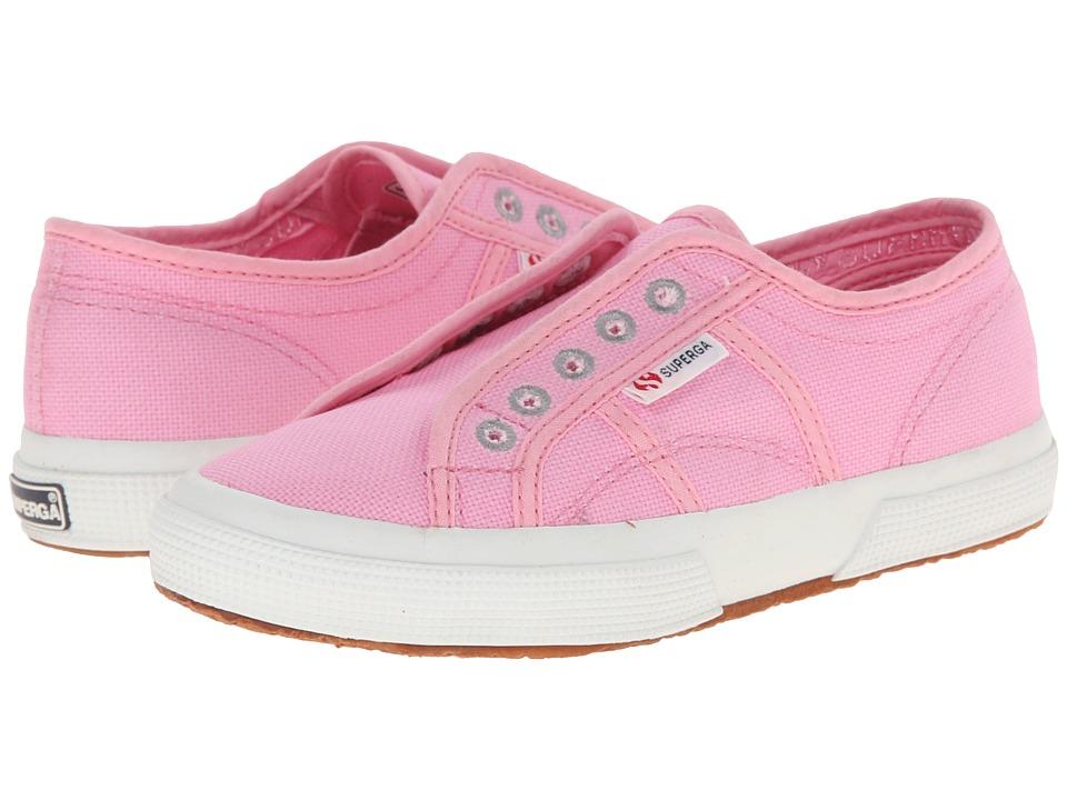 Superga Kids 2750 COTJ Slip On Infant/Toddler/Little Kid/Big Kid Begonia Pink Girls Shoes