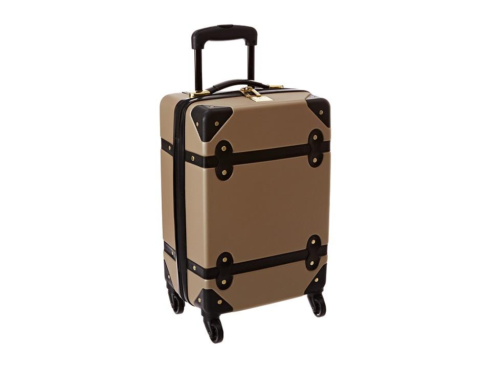 Diane von Furstenberg - Saluti 18 Hardside Spinner (Champagne/Black) Luggage