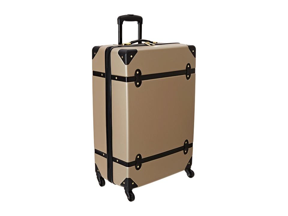 Diane von Furstenberg Saluti 28 Hardside Spinner (Champagne/Black) Luggage