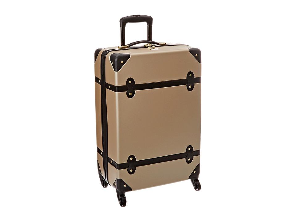 Diane von Furstenberg - Saluti 24 Hardside Spinner (Champagne/Black) Luggage