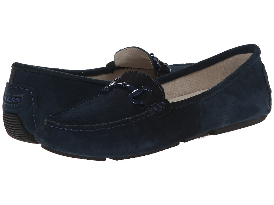Patricia Green Cambridge Navy Womens Slippers
