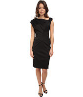Vera Wang - Stretch Viscose Asymmetrical Dress