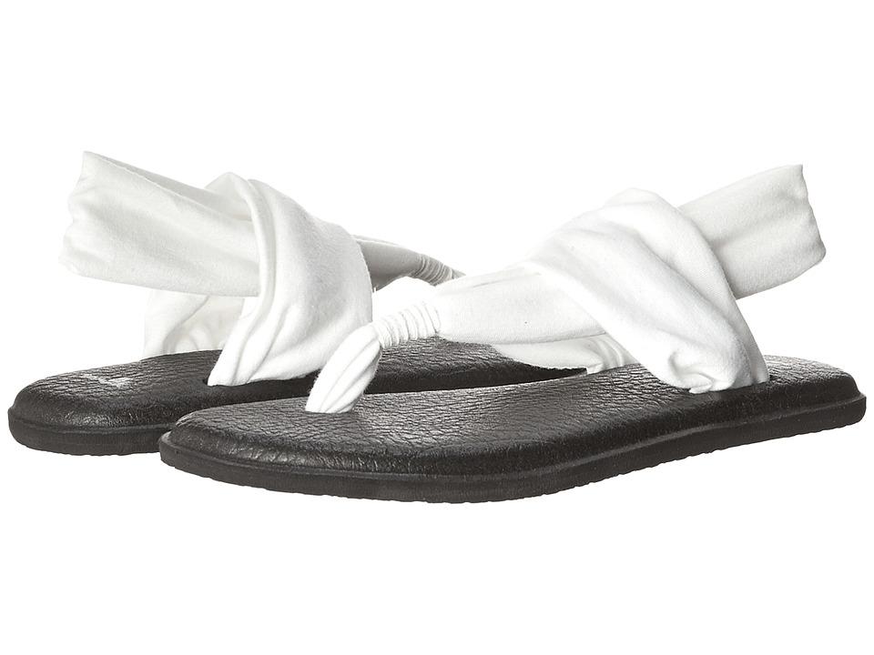 Sanuk Yoga Sling 2 (White) Sandals