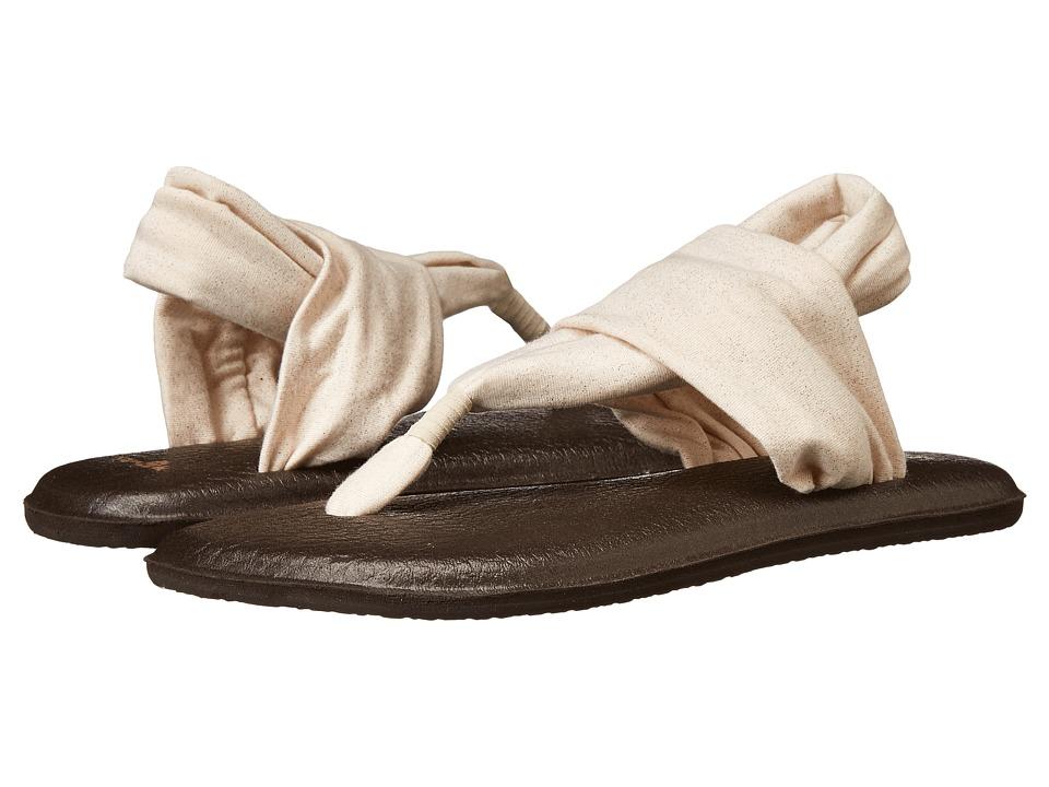 Sanuk Yoga Sling 2 Metallic (Rose Gold) Sandals
