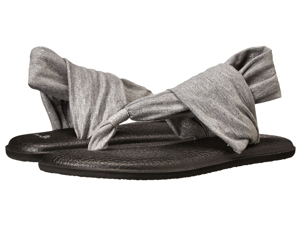 Sanuk - Yoga Sling 2 Metallic (Silver) Women's Sandals