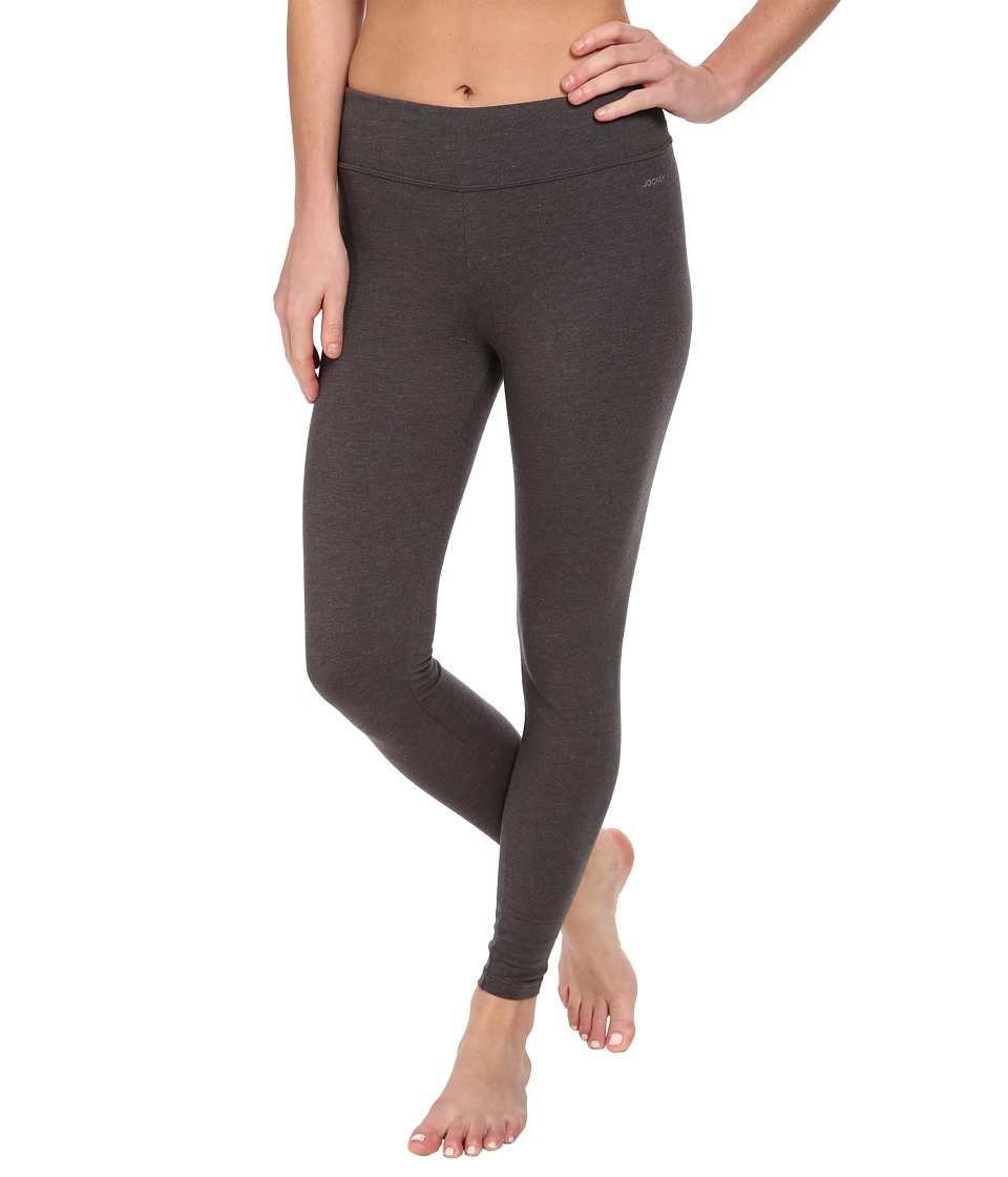 Jockey Active Ankle Legging Charcoal Womens Casual Pants
