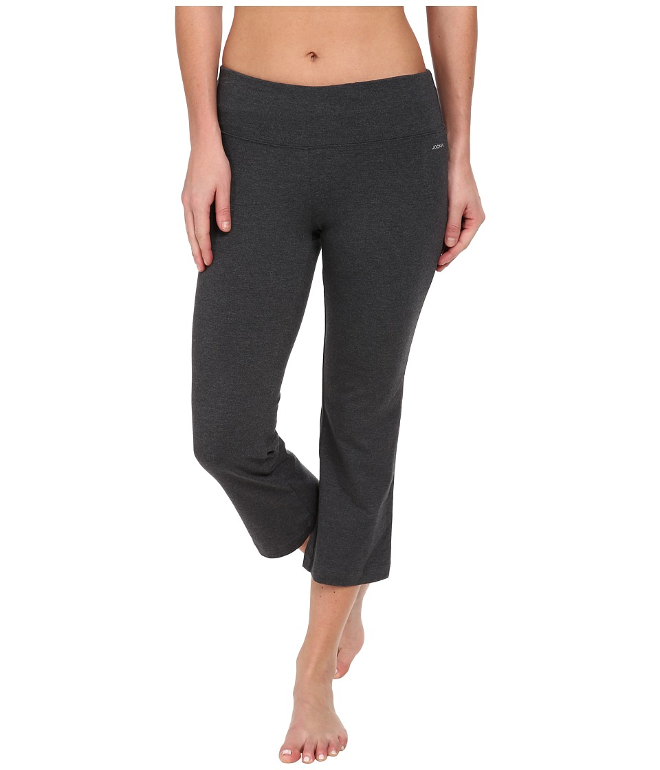 Jockey Active Slim Capri Flare (Charcoal) Women