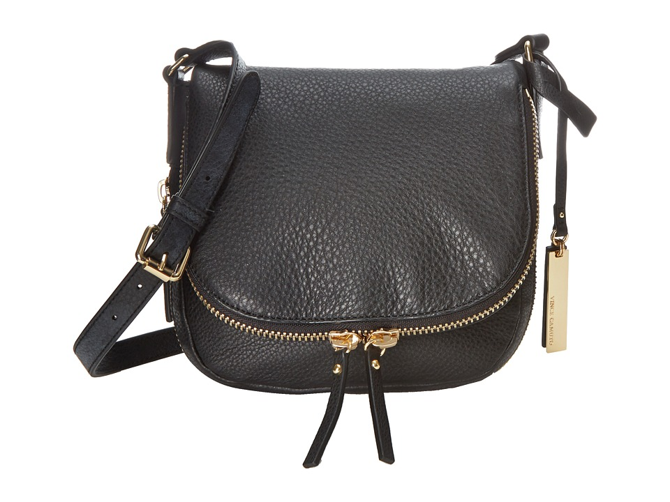 Vince Camuto - Baily Crossbody (Black) Cross Body Handbags