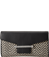 Vince Camuto - Julia Two-Tone Flap Compact Clutch