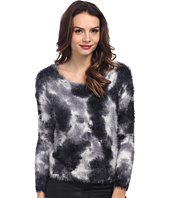 TWO by Vince Camuto - Tie-Dyed Eyelash Yarn Pullover