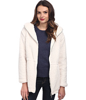 TWO by Vince Camuto - Polar Bear Faux Fur Hooded Knit Parka