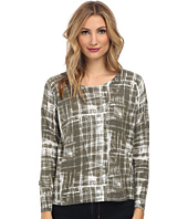 TWO by Vince Camuto - Modern Shibori Drop Shoulder Pullover