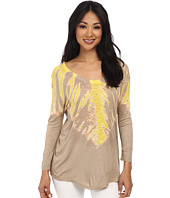 TWO by Vince Camuto - Sunburst Tie-Dye Tunic