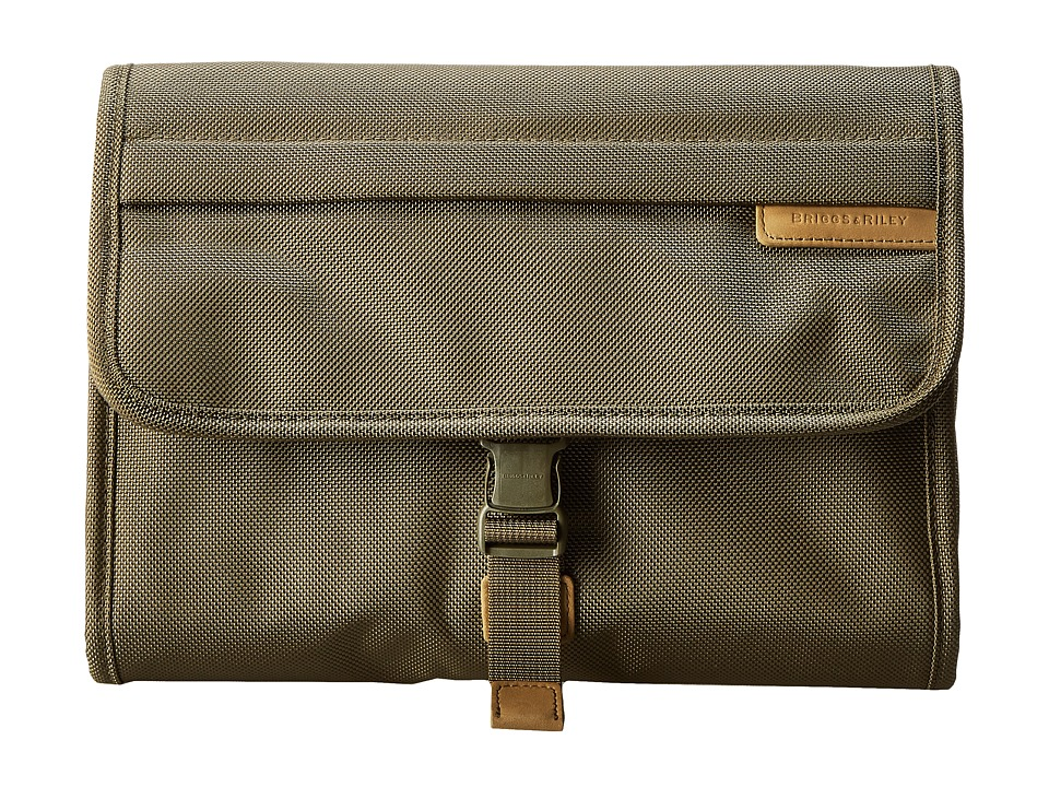 Briggs amp Riley Baseline Deluxe Toiletry Kit Olive Toiletries Case
