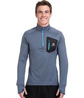 Salomon - Trail Runner Warm L/S Zip Tee