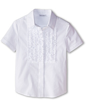 Dolce & Gabbana Kids - Ruffled S/S Button Up (Toddler/Little Kids)