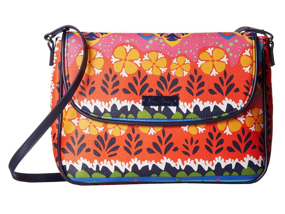 Vera Bradley Flap Crossbody Rio Stripe Cross Body Handbags