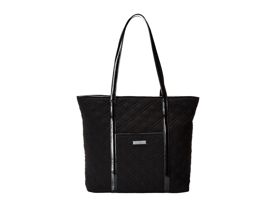 Vera Bradley - Trimmed Vera (Classic Black) Tote Handbags