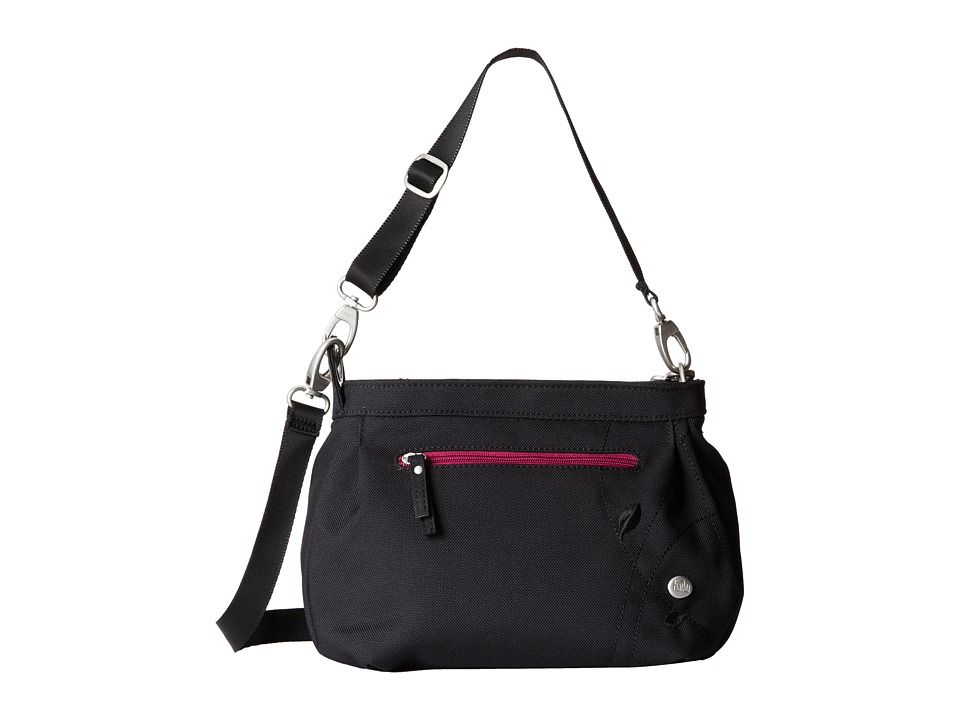 Haiku Bucket Bag Black 2 Cross Body Handbags