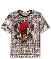 Dolce & Gabbana - Mosiac S/S Tee (Big Kids)