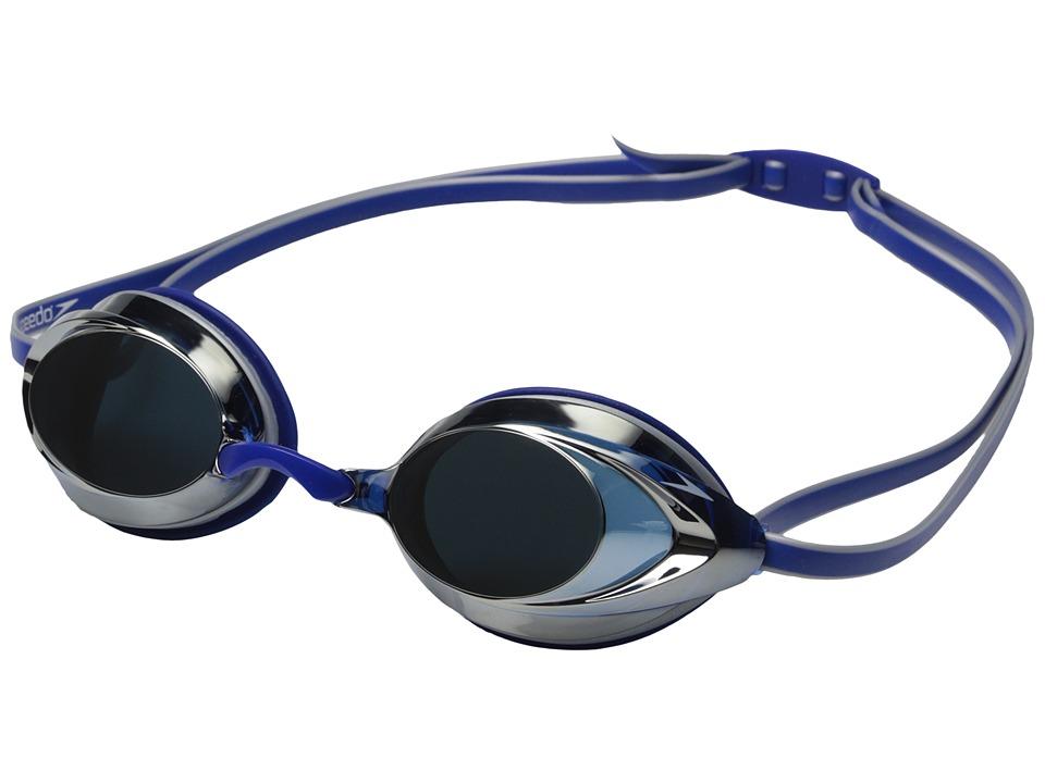 Speedo Vanquisher 2.0 Mirrored Blue Water Goggles
