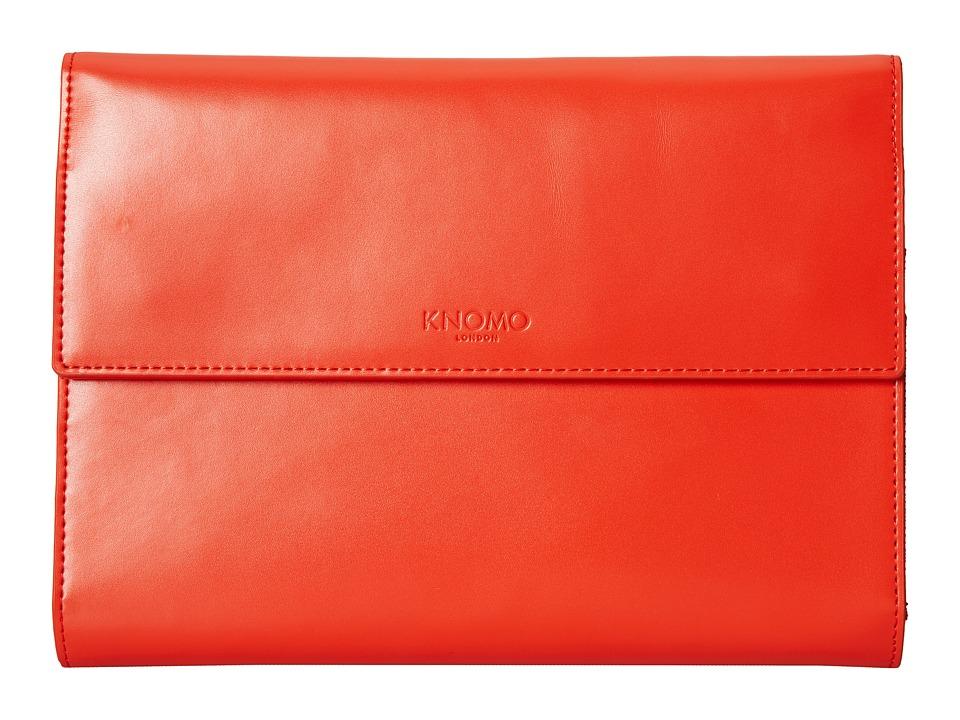 KNOMO London - SOHO Knomad Mini 8 Portable Organizer (Tomato) Wallet