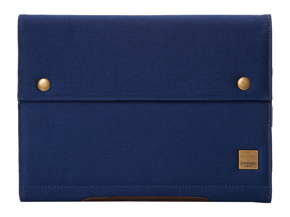 KNOMO London Balham Knomad Portable Organizer for the iPad Air 10 Blue Wallet