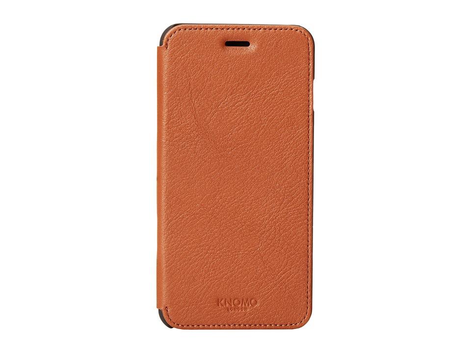 KNOMO London - Classic Phone Folio (Scotch) Cell Phone Case