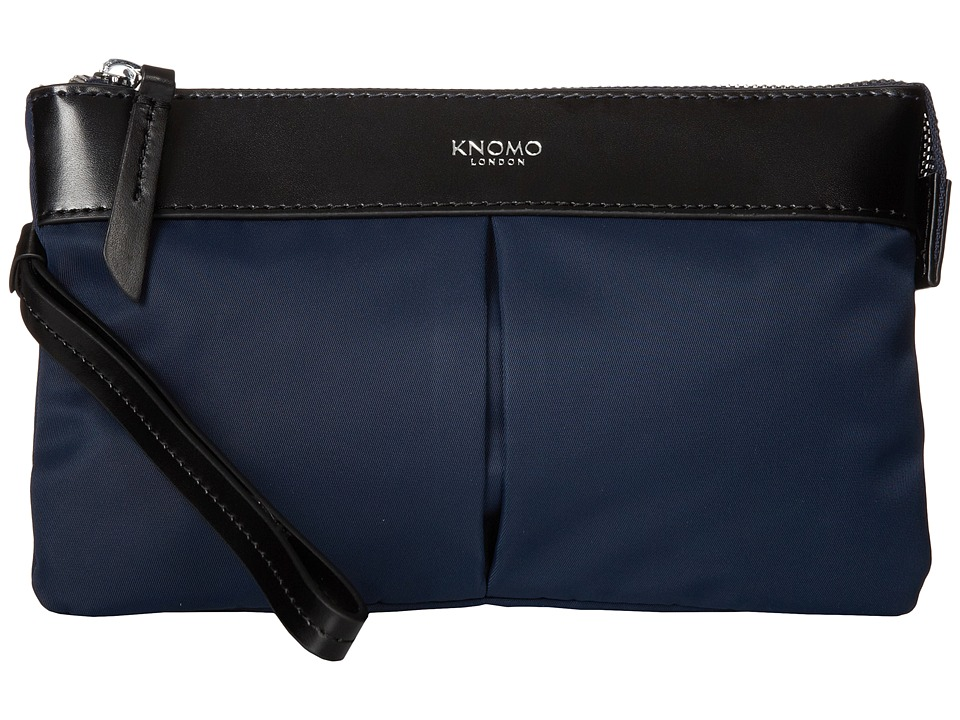 KNOMO London - Dering Smartphone Charge Pouch (Navy) Luggage
