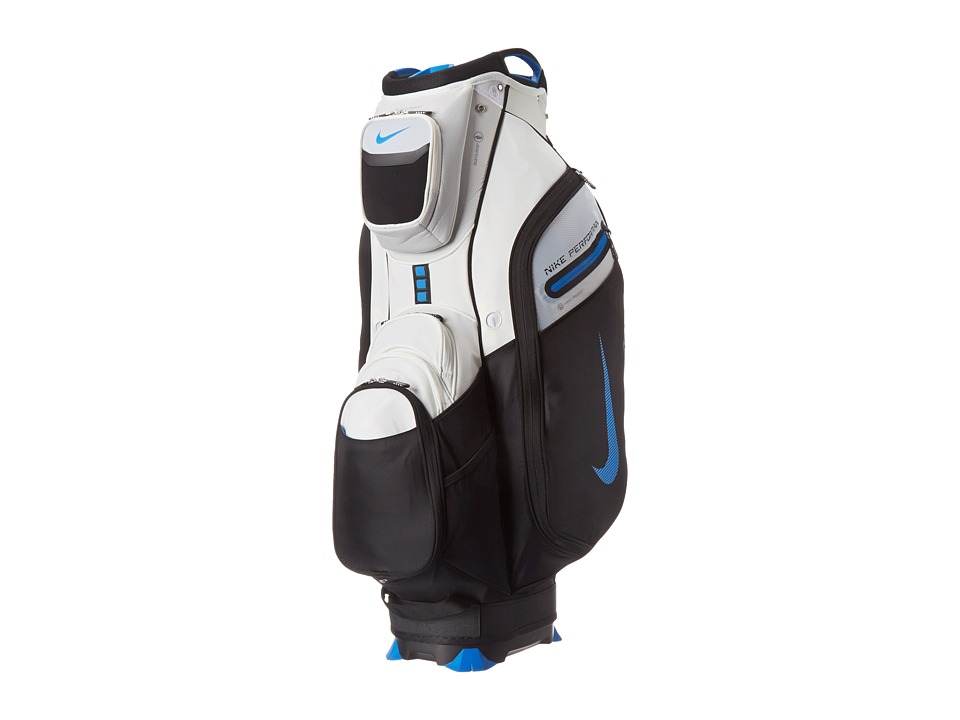 Nike Golf - Performance Cart II Bag (White/Photo Blue/Black) Duffel Bags