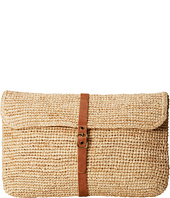 Hat Attack - Raffia Crochet Clutch