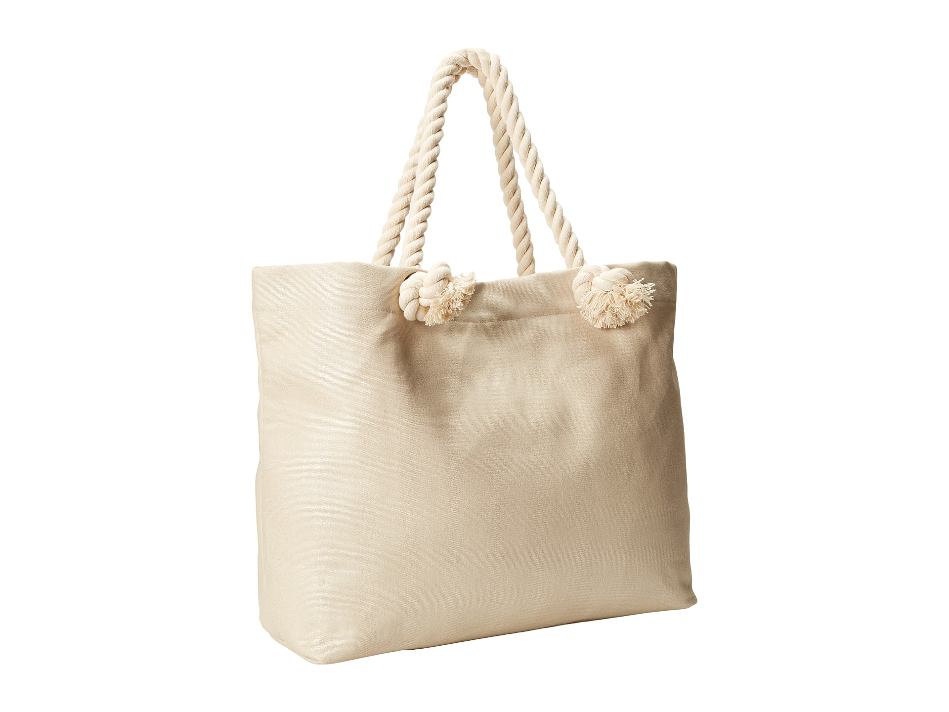 Hat Attack Perfect Canvas Beach Tote w/ Rope Handles - 6pm.com