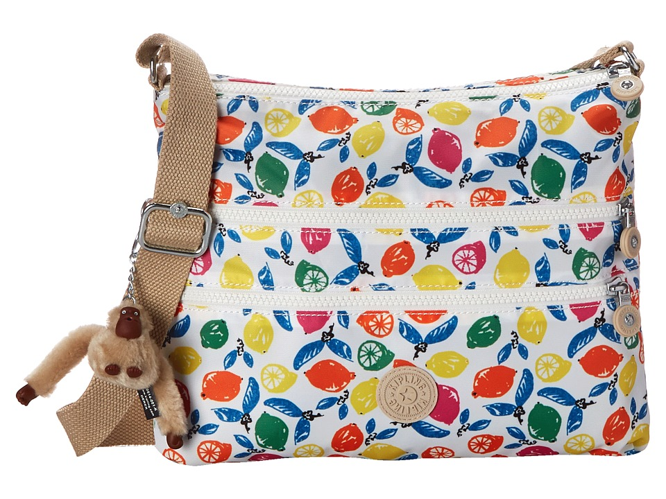 Kipling Alvar Printed Crossbody Bag Citrus Smash Cross Body Handbags