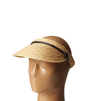 Hat Attack - Raffia Braid Visor