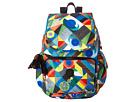 Kipling Ravier Printed Backpack (Abstract Beauty)