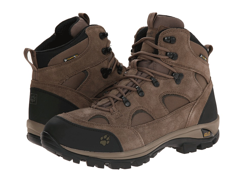 Jack Wolfskin All Terrain Texapore Siltstone Mens Hiking Boots