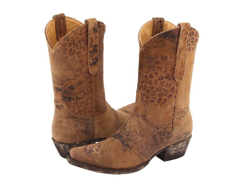 Old Gringo - Leopartido 10 (Ocre Viejo) Cowboy Boots