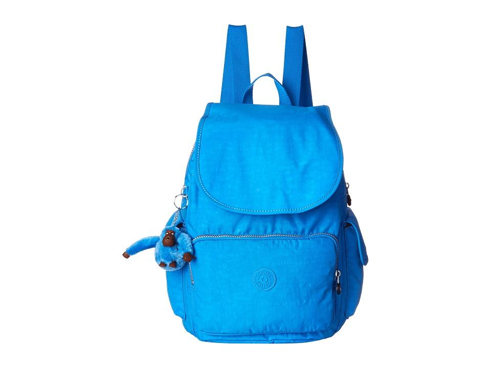 Kipling Ravier Backpack Blue Jay Backpack Bags