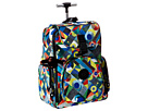 Kipling Alcatraz II Printed Backpack With Laptop Protection (Abstract Beauty)