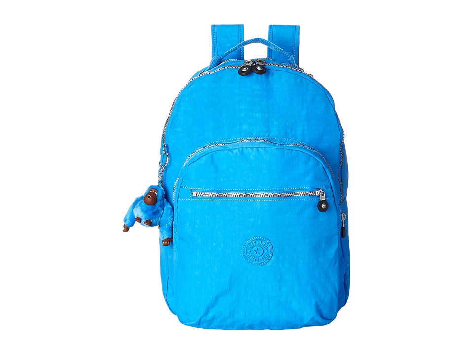 Kipling Seoul Backpack with Laptop Protection Blue Jay Backpack Bags