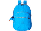 Kipling Seoul Backpack with Laptop Protection (Blue Jay)