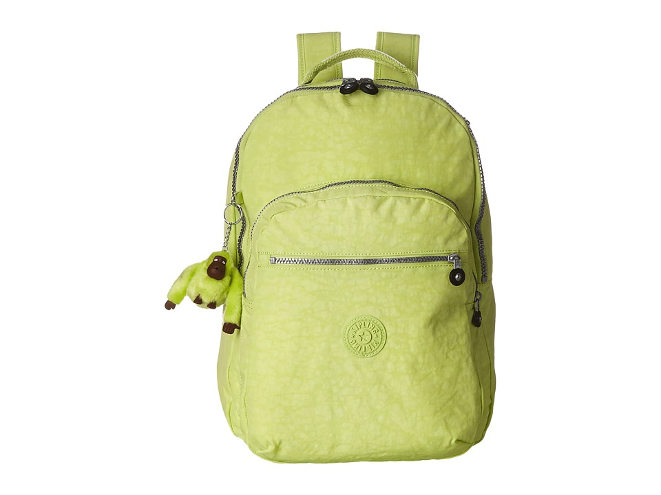 Kipling Seoul Backpack with Laptop Protection Blazing Yellow Backpack Bags