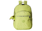 Kipling Seoul Backpack with Laptop Protection (Blazing Yellow)