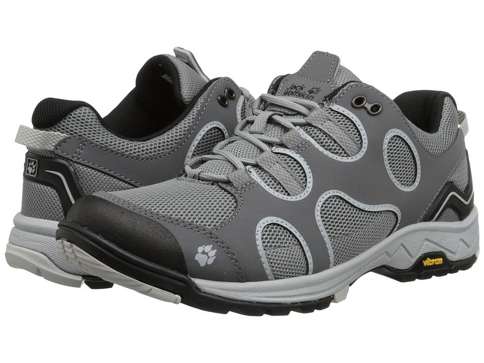 Jack Wolfskin - Crosswind Low (Grey Haze) Womens Shoes