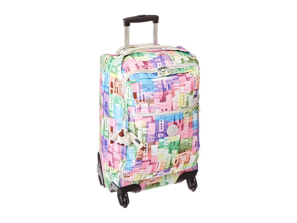 Kipling - Darcey Small Wheeled Luggage (Cityscape) Duffel Bags
