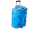 Kipling Discover Small Wheeled Luggage Duffel (Blue Jay)