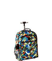 Kipling - Sausalito Printed Rolling Backpack