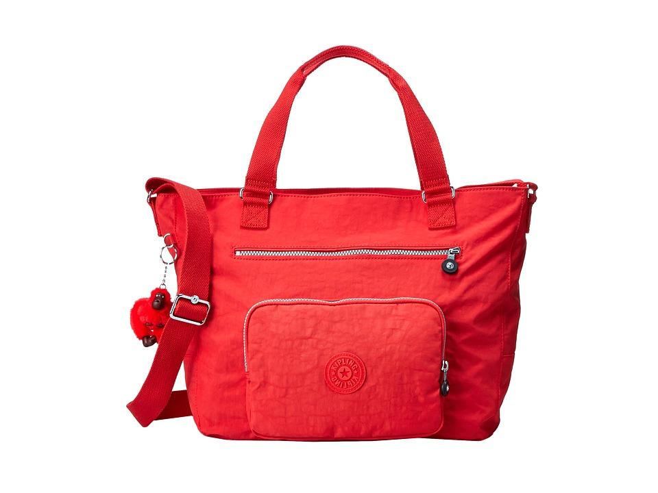 Kipling Maxwell Tote Cayenne Tote Handbags