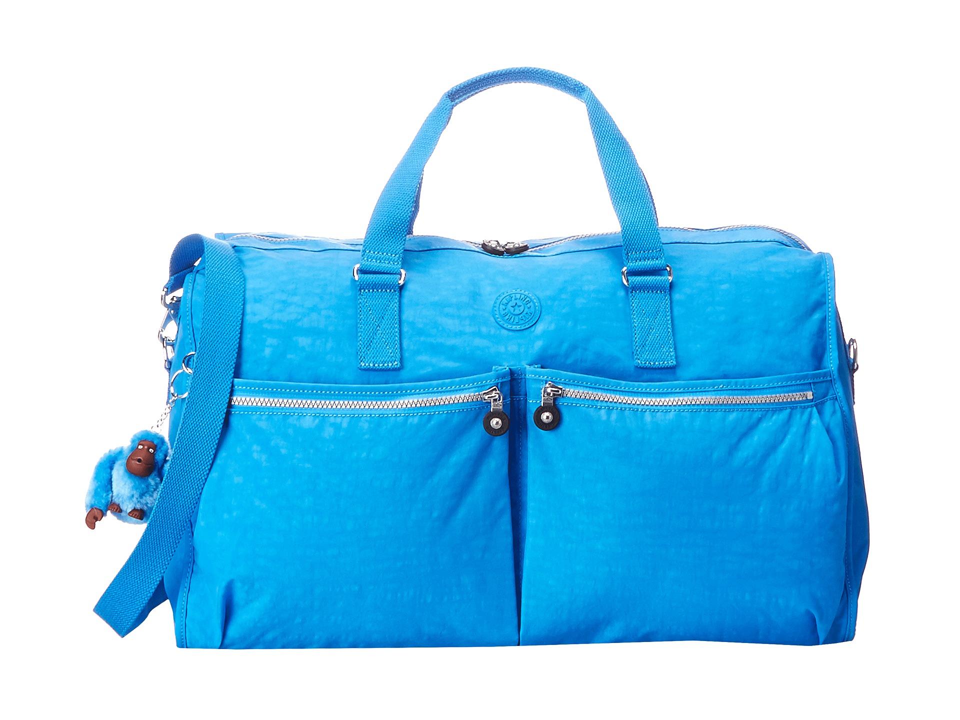 kipling itska duffel bag blue zappos free